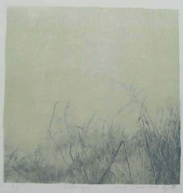 Shin-Hye Park  'Landscape', created in 2005, Original Printmaking Lithography.