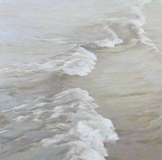 Shin-hye Park: 'wave3', 2011 Oil Painting, nature.