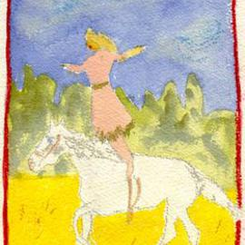 Shmuela Padnos Artwork cowgirl 2, 2001 , Animals