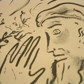 Shoshannah Brombacher Artwork a prophet, 2003 Other Drawing, Religious