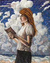 - artwork Summer-1227591038.jpg - 2008, Mosaic, Figurative