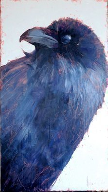 Igor Shulman: 'jackdaw barbara', 2019 Oil Painting, Birds. If you thought that I was an ornithologist, then you were mistaken. I am an artist. I just like the birds. I like a lot more in this world. But the most beloved is nature and all of which it consists. And birds are an integral part of nature, and ...