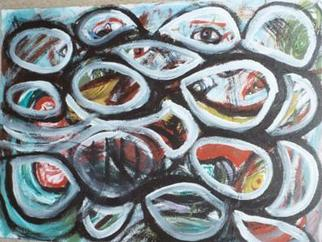 Artist: Adam Adamou - Title: See Look Observe - Medium: Acrylic Painting - Year: 2004
