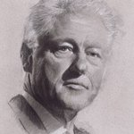 bill clinton By Sid Weaver