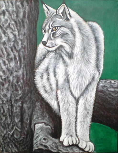 White Tiger Acrylic Painting By Sigit Sugiharto ...