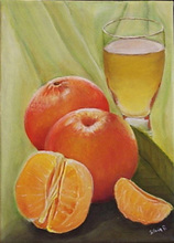 - artwork Orange_Juice-1157736779.jpg - 2006, Painting Acrylic, Still Life