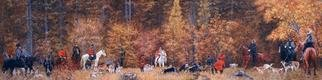 Artist: Simon Kozhin - Title: Russian Hunting - Medium: Oil Painting - Year: 2007