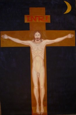Misha Kalacev: 'midnight jesus', 1995 Oil Painting, Erotic. Artist Description: DYD3/4D>> NfD1/2D3/4N++D1/2N<D1 DY=NEURD,NN,D3/4N. DN,Ddeg  D,NN,D3/4NEURD,N D? NEURD3/4D,D* D3/4N^D>> Ddeg 2000 D>> DuN,  N,D3/4D1/4Nf  D1/2DdegD* DdegD'. DYD3/4D'D>> N<Du D2NEURDdegD3D, NND2DdegN,D,D>> D, D? D>> D3/4N,D1/2D,DoDdeg D? D3/4  D,D1/4DuD1/2D, D~D,NNfN D,D*  DDdegD* DdegNEURDuN,Ddeg D,  NEURDdegND? ND>> D, DuD3D3/4  D1/2Ddeg  DoNEURDuNN,Du. DC/DdegDo  D3/4D1/2  D2NNZ  D1/2D3/4N++NOE  D,  D? NEURD3/4D2D,NDuD>> D1/2Ddeg  DoNEURDuNN,Du. ...
