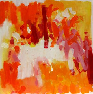Artist: Suzanne Jacquot - Title: Untitled Red - Medium: Acrylic Painting - Year: 2007