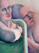 - artwork Sisters-1346286128.jpg - 2005, Painting Oil, Figurative