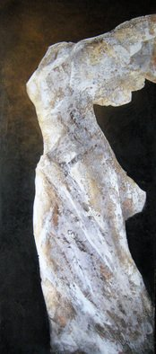 Dmitriy Frolov: 'nika', 2009 , World Culture. Artist Description:  painting plaster ...