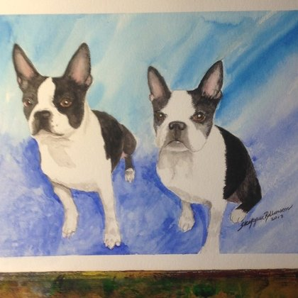 , Guinness And Pal, Portrait, $158