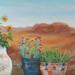Pottery With A View Arizona 3, Sharon Nelsonbianco