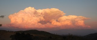 Stefan Van Der Ende: 'Cloud 1', 2014 Color Photograph, Sky.  cloud over the Sierra nevada Spain , seen from the Contraviesa    ...