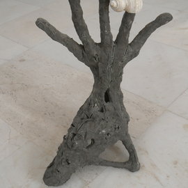 Stefan Van Der Ende: 'handshoenimal', 2002 Bronze Sculpture, Abstract Figurative. Artist Description:  unica bronze        ...