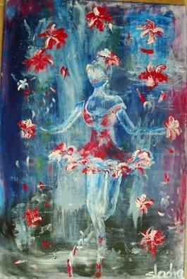 Artist: Sladjana Endt - Title: juggler - Medium: Acrylic Painting - Year: 2010