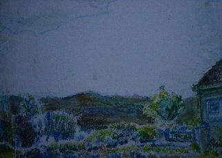 Artist: Sandra Laidley - Title: Myndd Presceli 1 - Medium: Acrylic Painting - Year: 2008