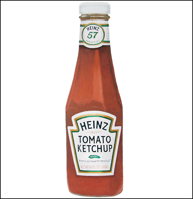 Steven Lynch  'Ketchup', created in 2010, Original Drawing Pencil.