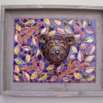 Lil Smokie Brown Bear Face Mask By Suzanne Noll