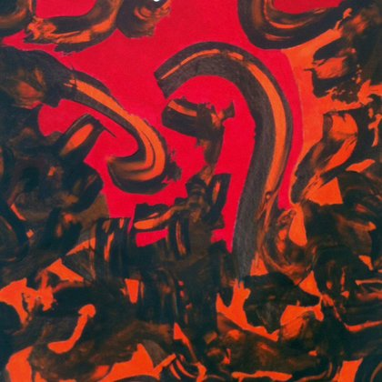 , Inferno, Abstract, $25,200
