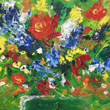 , Bouquet 3, Abstract, $315