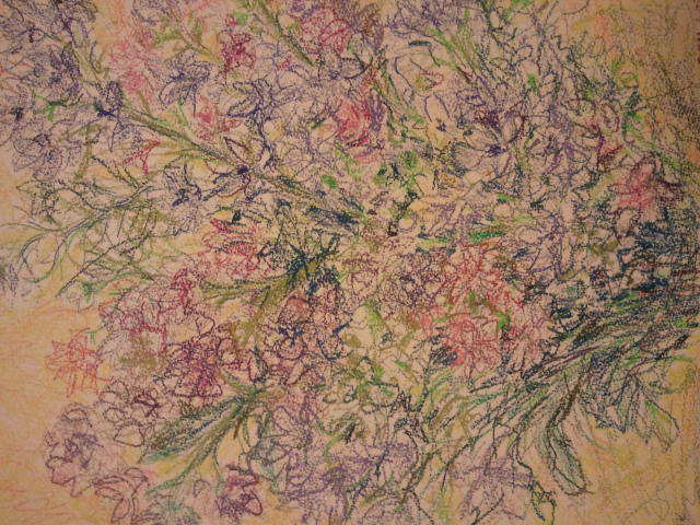 Soojin Hong  'Flowers', created in 2011, Original Painting Acrylic.
