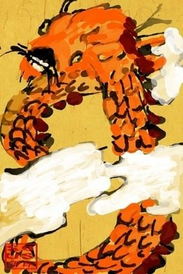 Debbi Chan Artwork 2012 year of dragon, 2011 Digital Art, Mythology