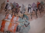 Artist: Debbi Chan, 'Going to Sienna for il Palio album'