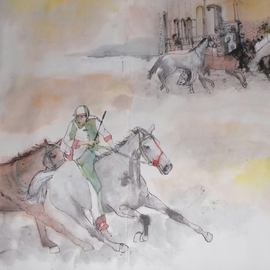 Italian il PALIO horse race album updated