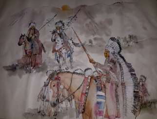 Debbi Chan Artwork Last wars of Nez  Perce album, 2015 Artistic Book, Western