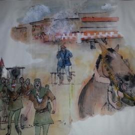 Italian il Palio horse race album