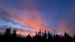 Debbi Chan: 'a February morning dawns', 2015 Color Photograph, Clouds. Artist Description:   Taken with Samsung Gear.  ...