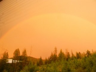 Artist: Debbi Chan - Title: a rainbow from my window - Medium: Color Photograph - Year: 2011