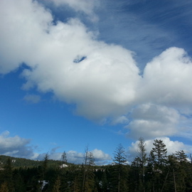 Debbi Chan: 'best clouds', 2014 Color Photograph, Clouds. Artist Description:        Photos from Idaho.                                                    ...