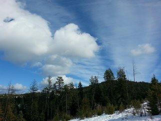 Debbi Chan: 'best clouds two', 2014 Color Photograph, Clouds. Artist Description:         Photos from Idaho.                                                     ...