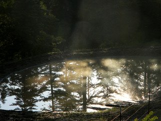 Debbi Chan: 'closer look at quiet reflection', 2011 Color Photograph, Beauty. Artist Description:   photos from idaho.  ...