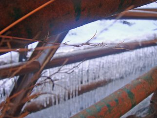 Color Photograph by Debbi Chan titled: cold  as ice, created in 2010