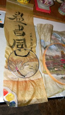 Debbi Chan Artwork embroidery time, 2010 Color Photograph, Communication