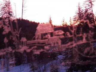 Artist: Debbi Chan - Title: etched in morning sun rise - Medium: Color Photograph - Year: 2012