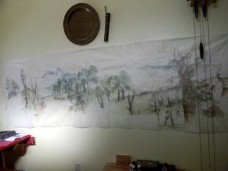 Debbi Chan Artwork finally a wall big enough, 2011 Color Photograph, Home