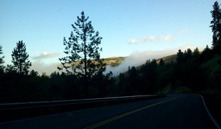 Artist: Debbi Chan - Title: fog over the road to kendrick - Medium: Color Photograph - Year: 2011