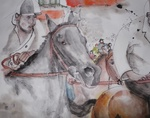Artist: Debbi Chan, 'going to Siena for Il Palio album'