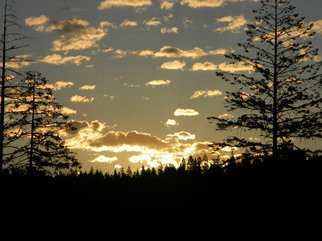 Artist: Debbi Chan - Title: golden light in idaho - Medium: Color Photograph - Year: 2011