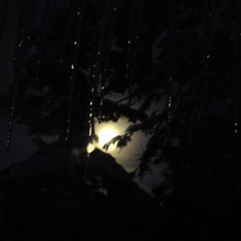 Debbi Chan: 'ice plus moon equal beauty', 2012 Color Photograph, Beauty. Artist Description: photos from Idaho.    ...
