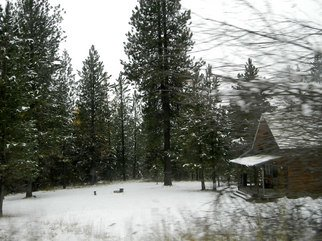 Artist: Debbi Chan - Title: idaho home scene - Medium: Color Photograph - Year: 2011