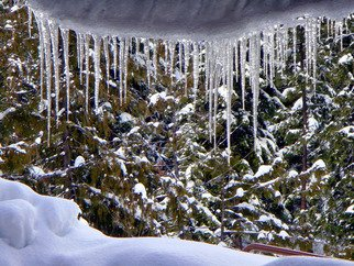 Color Photograph by Debbi Chan titled: idaho ice, created in 2010