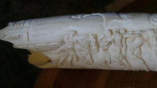 Debbi Chan: 'il Palio in relief', 2014 , Equine. Artist Description:  Relief carving of il Palio. ...