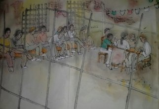 Debbi Chan: 'inside mental illness album', 2014 Artistic Book, Motivational. Artist Description:       70 ft  continuous story painting in a folding album.        ...