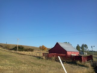 Artist: Debbi Chan - Title: local red barn - Medium: Color Photograph - Year: 2011