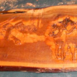 logging history in wood relief update